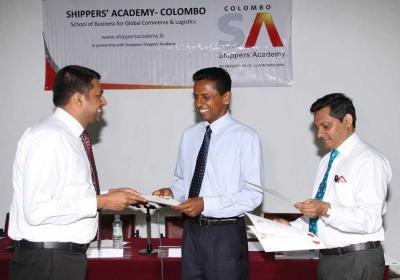 Certificates awarded for the Course on Port Tariff