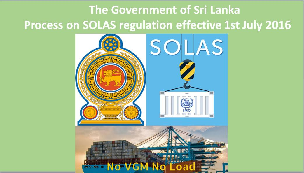 Sri Lanka Solas Regulation-Safety of Life at Sea